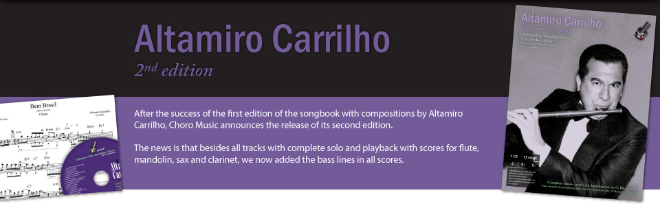 Release: Songbook Altamiro Carrilho - 2nd edition