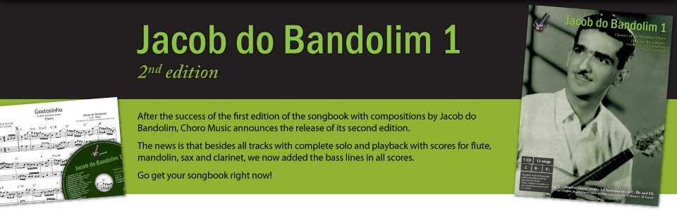 Release: Songbook Jacob do Bandolim 1 - 2nd edition